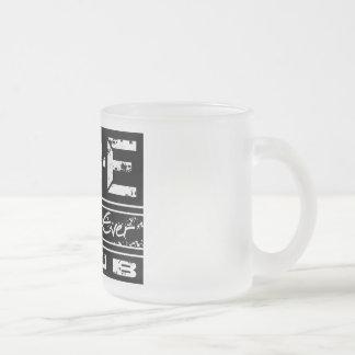 Beste Vati-überhaupt Verein-Frost-Tasse durch Matte Glastasse
