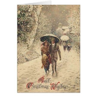 Beste Weihnachtswünsche - Karte