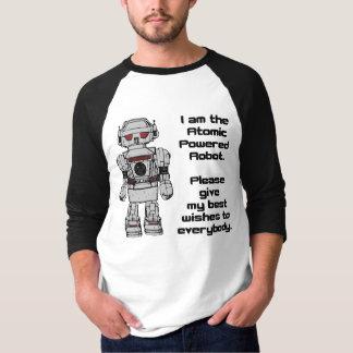 Beste Wünsche vom angetriebenen T-Shirt
