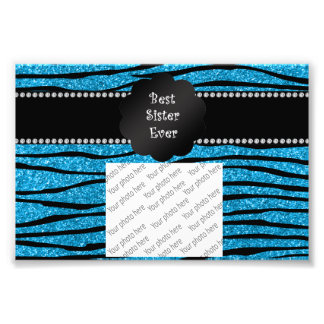 Beste Zebrastreifen Glitter der Schwester überhaup Fotos