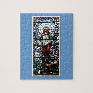 Besteigung des Jesus-Buntglasfensters Puzzle