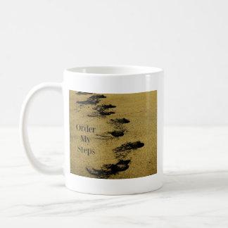 Bestellen Sie meine Schritte Kaffeetasse