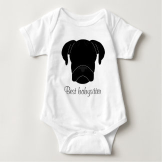 Bester Babysitter Baby Strampler