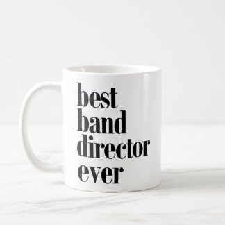 Bester Band-Direktor Ever Mug! Kaffeetasse