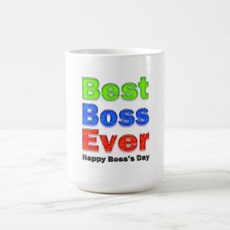 Bester Chef des Chefs Tagesüberhaupt Tasse