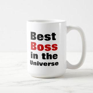 Bester Chef im Universum Tasse