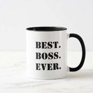 Bester Chef überhaupt kundengerecht Tasse
