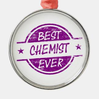 Bester Chemiker überhaupt lila Ornamente
