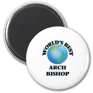 Bester der Bogen-Bischof der Welt Runder Magnet 5,1 Cm