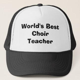 Bester der Chor-Lehrer der Welt Truckerkappe
