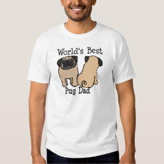 Bester der Mops-Vati der Welt T Shirt