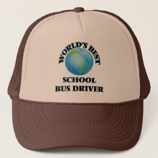 Bester der Schulbus-Fahrer der Welt Truckerkappe