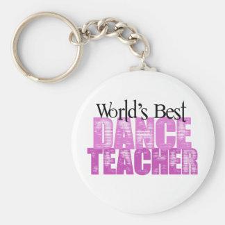 Bester der Tanz-Lehrer der Welt Schlüsselbänder