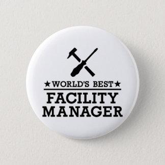 Bester die Anlagen-Manager der Welt Runder Button 5,7 Cm