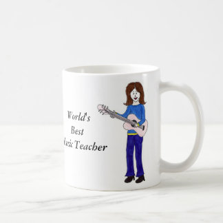 Bester die Musik-Lehrer der Welt Kaffeetasse