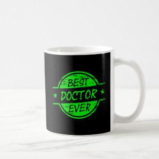 Bester Doktor Ever Green Kaffeetasse