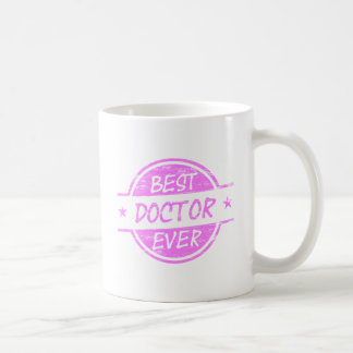 Bester Doktor Ever Pink Kaffeetasse