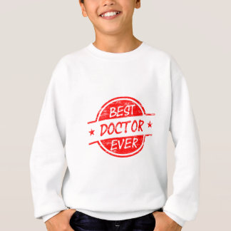 Bester Doktor Ever Red Sweatshirt