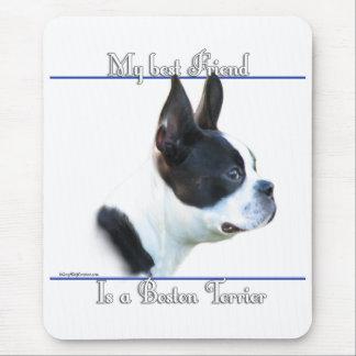 Bester Freund 2 Bostons Terrier Mousepad