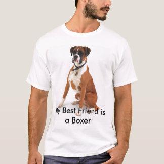 Bester Freund-Boxer T-Shirt