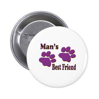 Bester Freund Anstecknadelbuttons