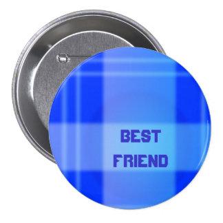 Bester Freund Runder Button 7,6 Cm