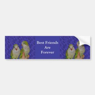 Bester Freund-für immer niedlicher Autoaufkleber