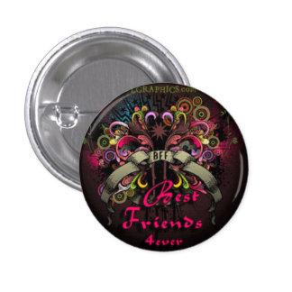 Bester Freund Runder Button 2,5 Cm