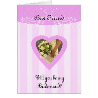 Bester Freund sind Sie meine stilvolle Karte
