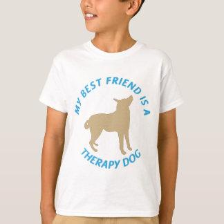 Bester Freund-Therapie-Hund T-Shirt