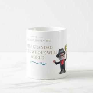 Bester Grandad in der Welt Kaffeetasse