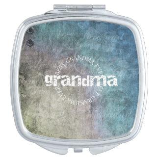 Bester Großmutter-überhaupt - Vertrag Schminkspiegel