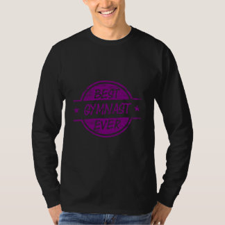 Bester Gymnast überhaupt lila T-Shirt