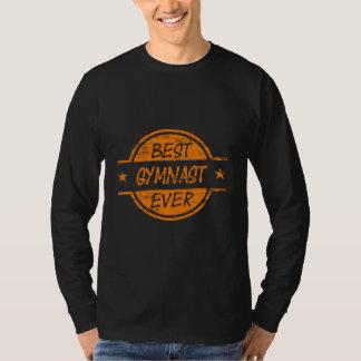 Bester Gymnast überhaupt orange T-Shirt