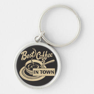 Bester Kaffee in der Stadt Schlüsselanhänger