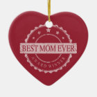 Bester Mamma-überhaupt - Sieger-Preis - Schmutz Keramik Ornament