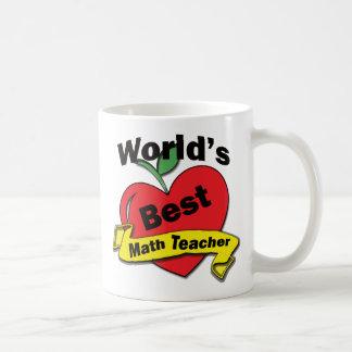 Bester Mathe-Lehrer der Welt Kaffeetasse