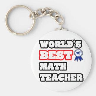 Bester Mathe-Lehrer der Welt Schlüsselanhänger