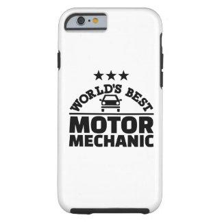 Bester Mechaniker der Welt Bewegungs Tough iPhone 6 Hülle