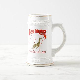 Bester Mutter-Preis Bierglas