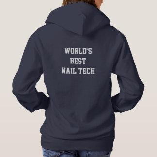 Bester Nageltechniker der Welt Hoodie