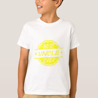 Bester Onkel Ever Yellow T-Shirt