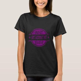 Bester Orthodontist überhaupt lila T-Shirt