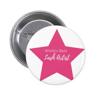 Bester Peitschenkünstler der Welt Runder Button 5,1 Cm