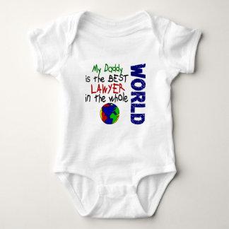 Bester Rechtsanwalt in Welt 2 (Vati) Baby Strampler