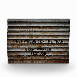 Bester Schweißer-Preis Auszeichnung