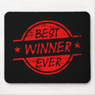 Bester Sieger überhaupt rot Mauspads