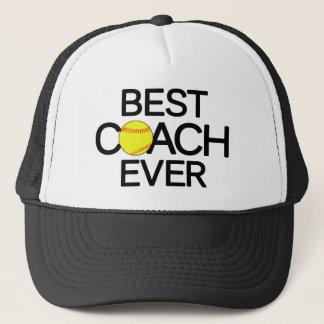 Bester Softball-Trainer überhaupt Fastpitch Truckerkappe