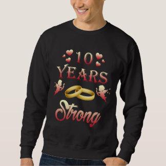 Bester T - Shirt. 1. Hochzeitstag-Geschenk Sweatshirt