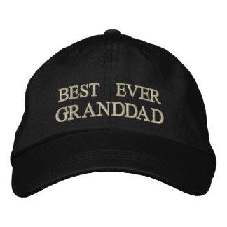 Bester überhaupt Opa gesticktes Geschenk Bestickte Kappe
